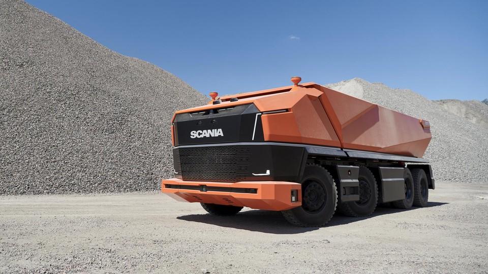 Autonomous Dumper Truck
