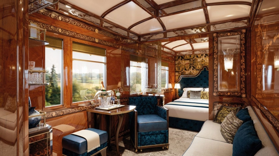 Luxusná jazda Orient Expressom