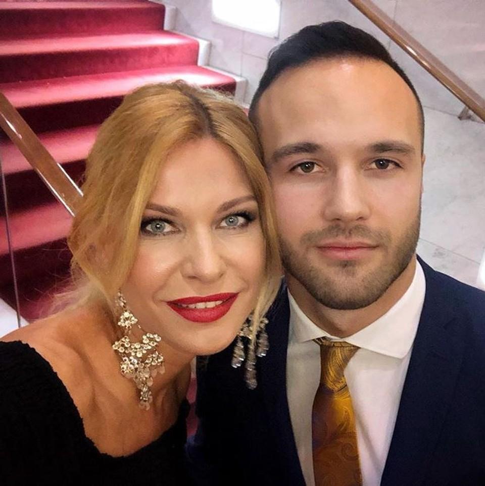 Katarínu Jesenskú uvidíte na spoločenských akciách najčastejšie so synom Jakubom