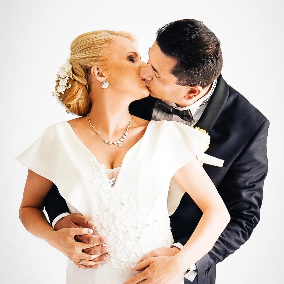 Aneta Parišková s manželom
