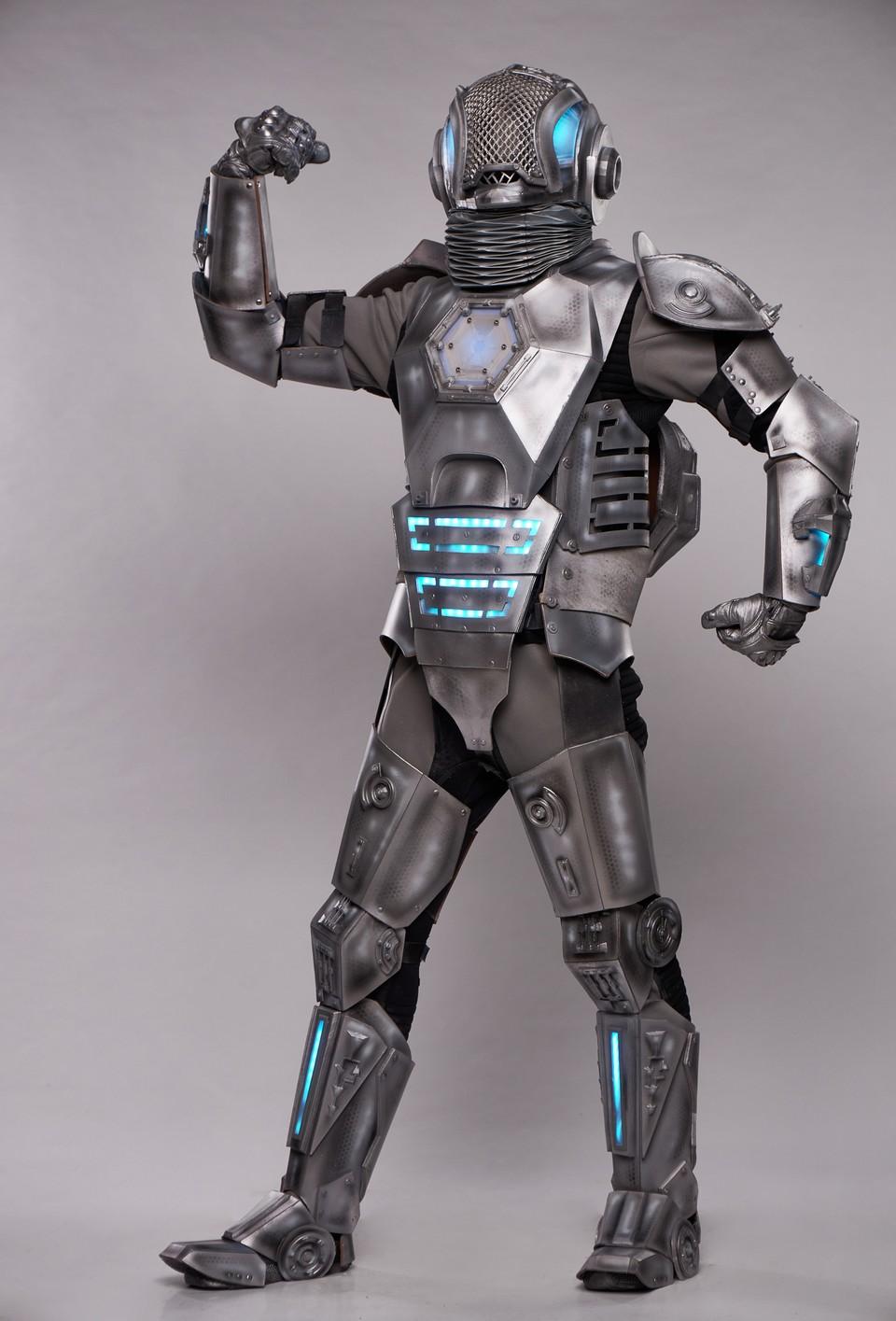 Zlatá maska-Robot