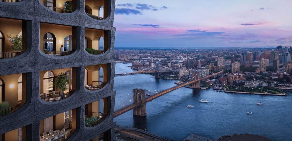 Majestátny mrakodrap v New Yorku