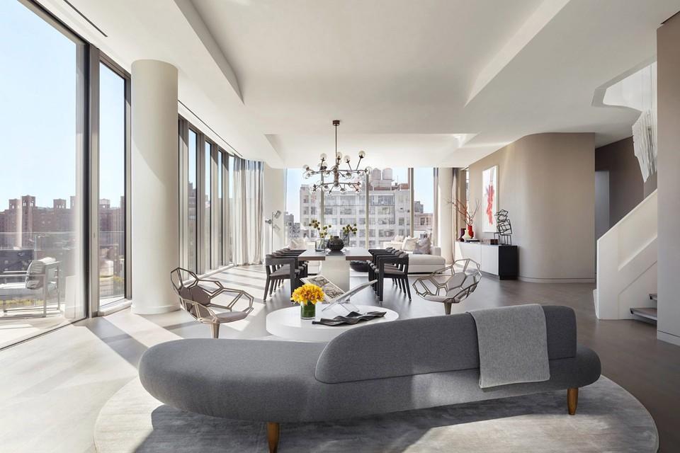 Newyorský apartmán s dvojitým penthousom