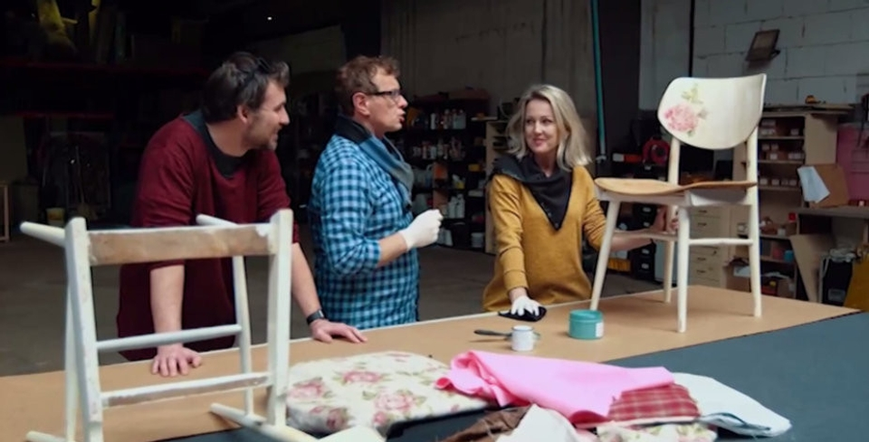 Výroba stoličky
