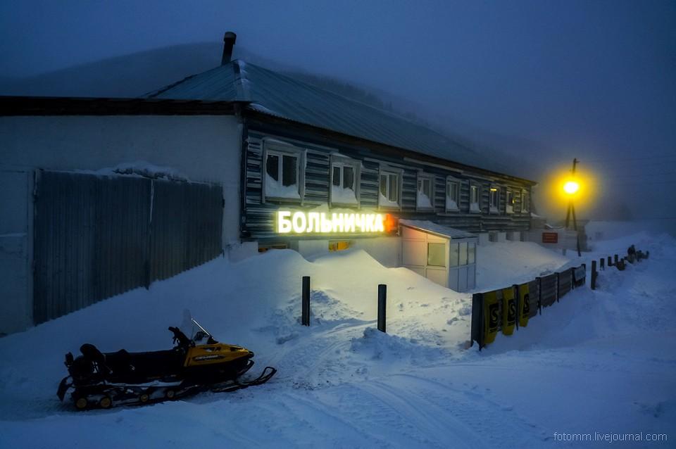 Krutá a jedinečná zima na Sibíri