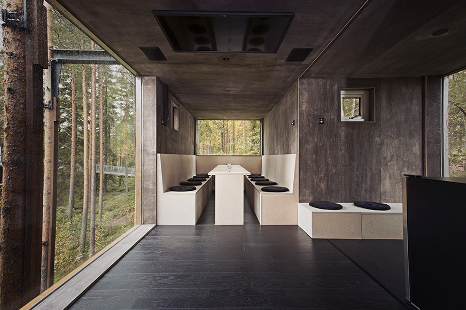 Stromový hotel vo Švédsku
