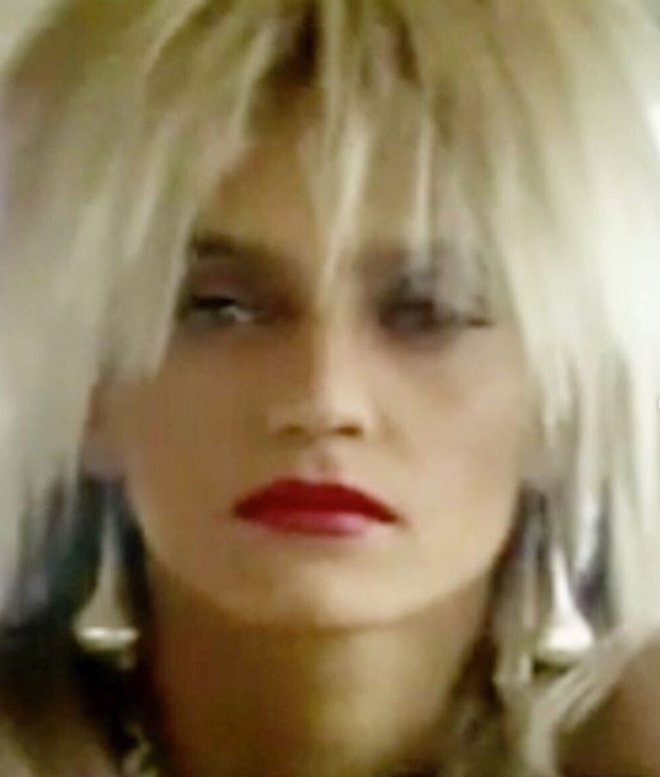 Lucie Bílá s blond vlasmi