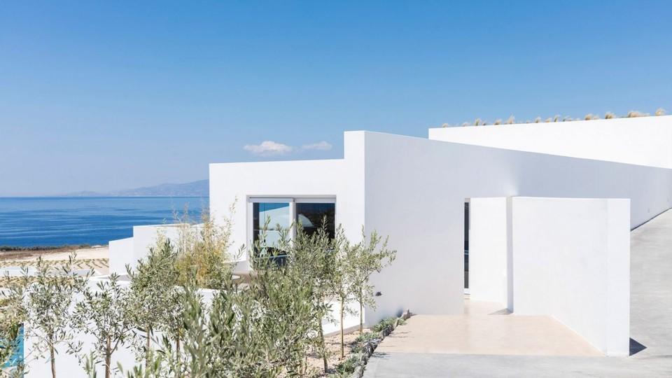 Luxusná letná rezidencia na ostrove Santorini