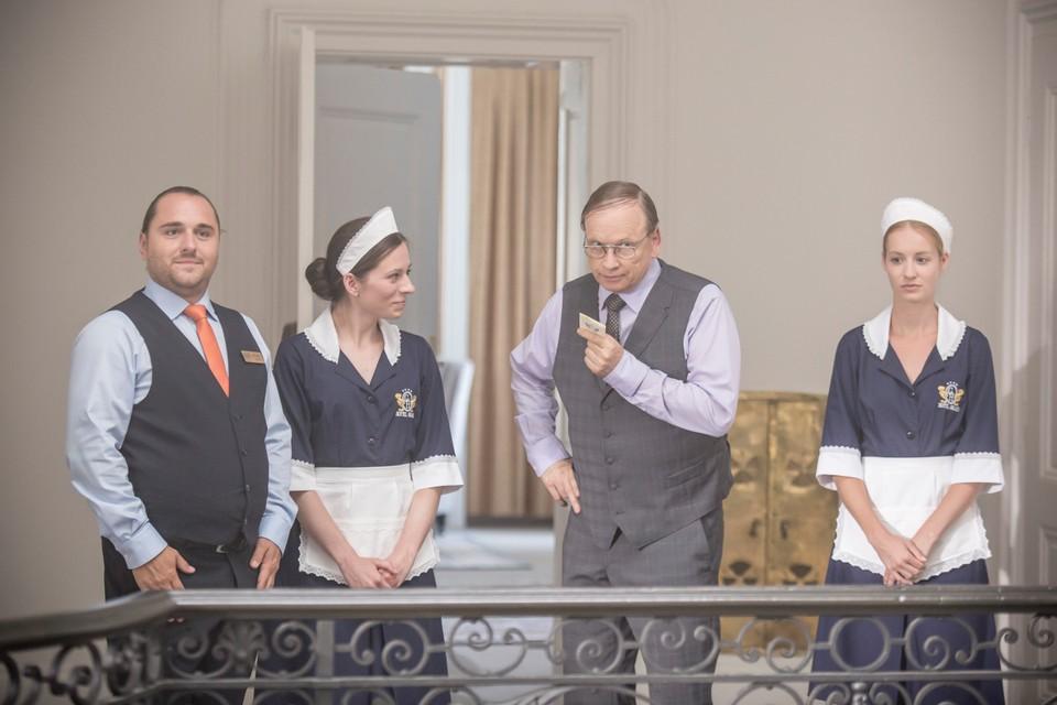 Simona Kollárová v seriáli Hotel