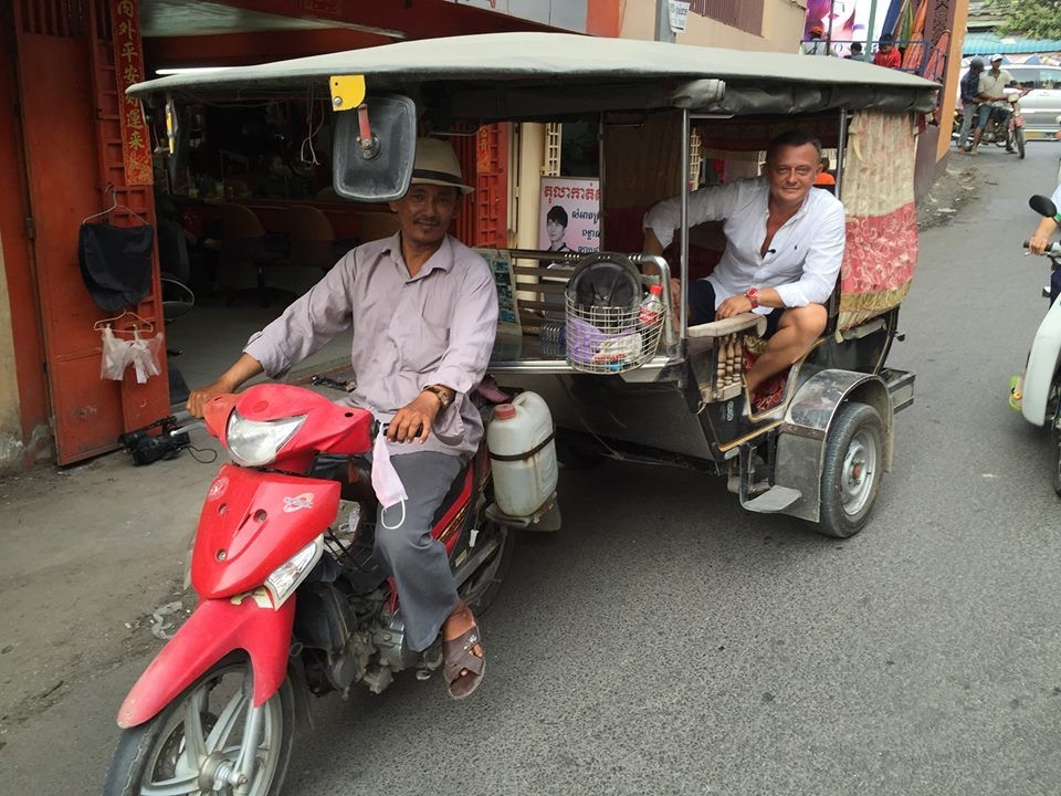 Vilo v Kambodzi