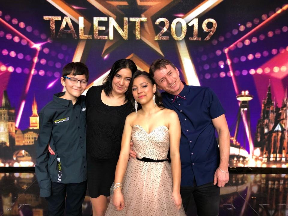 Víťazka šou Česko Slovensko má talent 2019 - Margaréta Ondrejková s rodinou