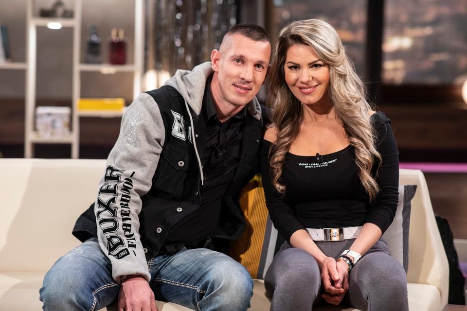 Tomi Kid s manželkou