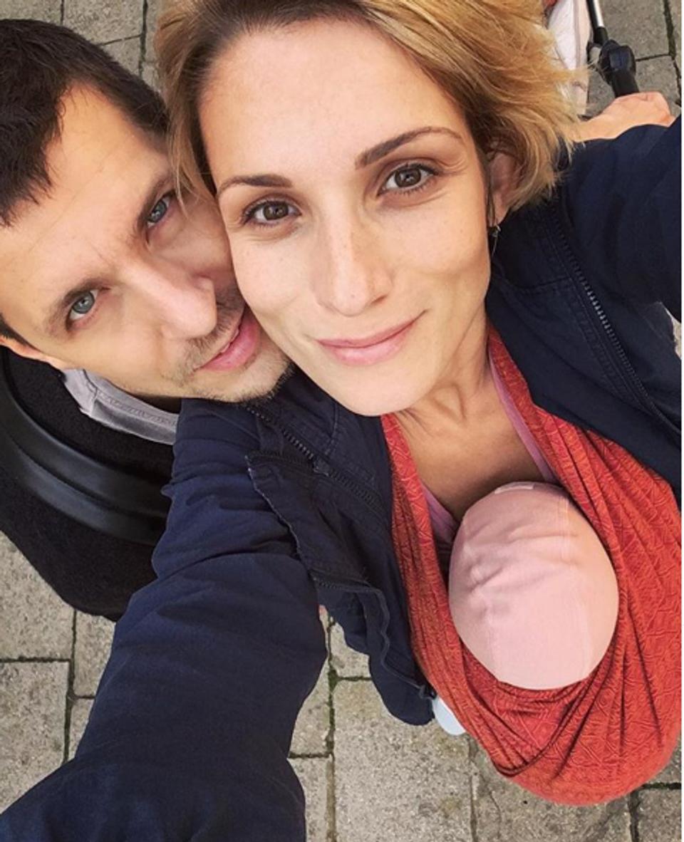 Zuzana Kanócz, Juraj Loj a ich dcérka