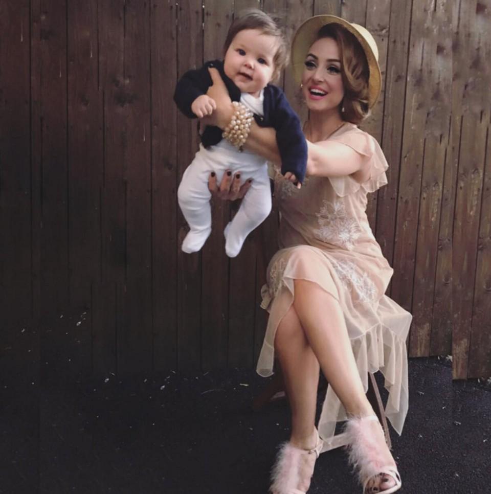 Lucid a jej dcérka Lýdia