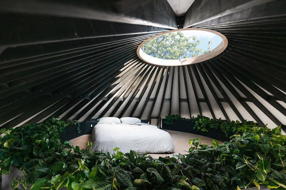 Moderné bývanie v jurte