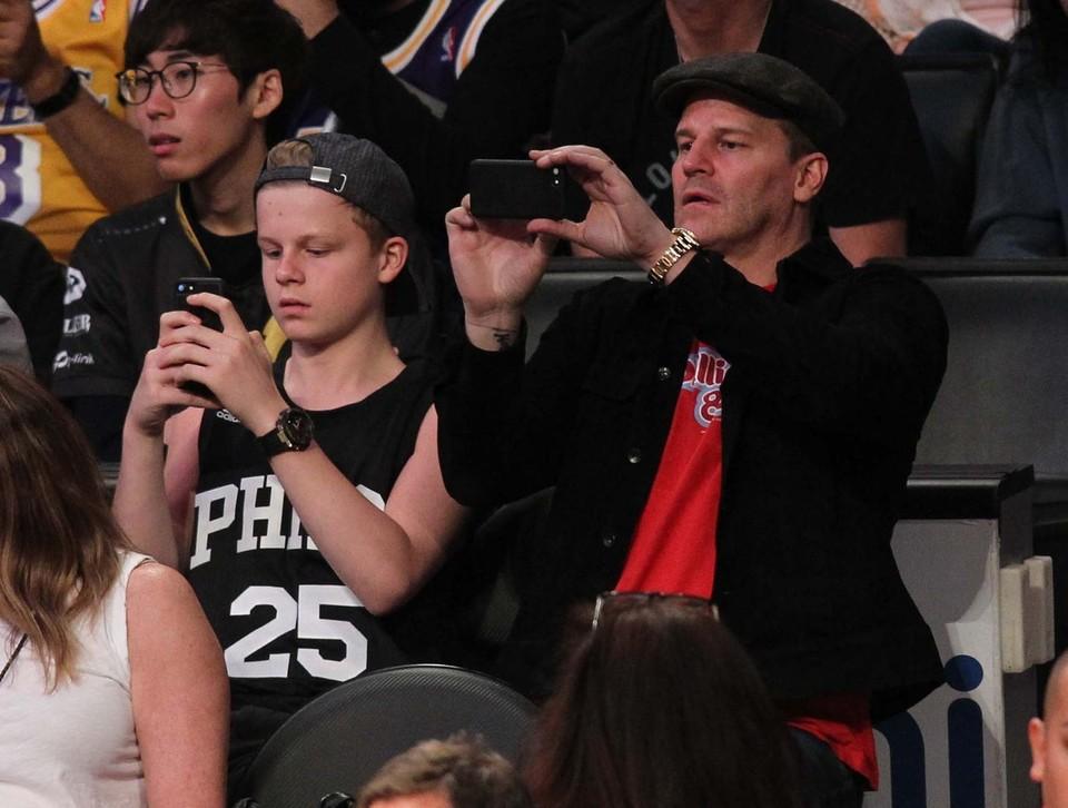 David Boreanaz a jeho syn