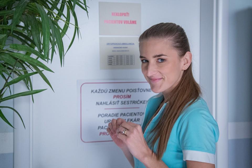 Barbora Ďurovčíková v seriáli Nový život
