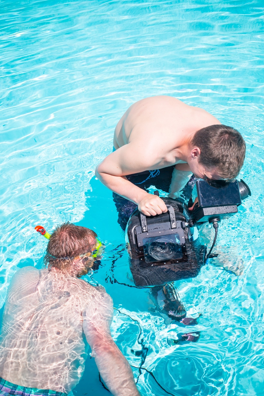 Niektoré zábery sme nakrúcali aj pod vodou