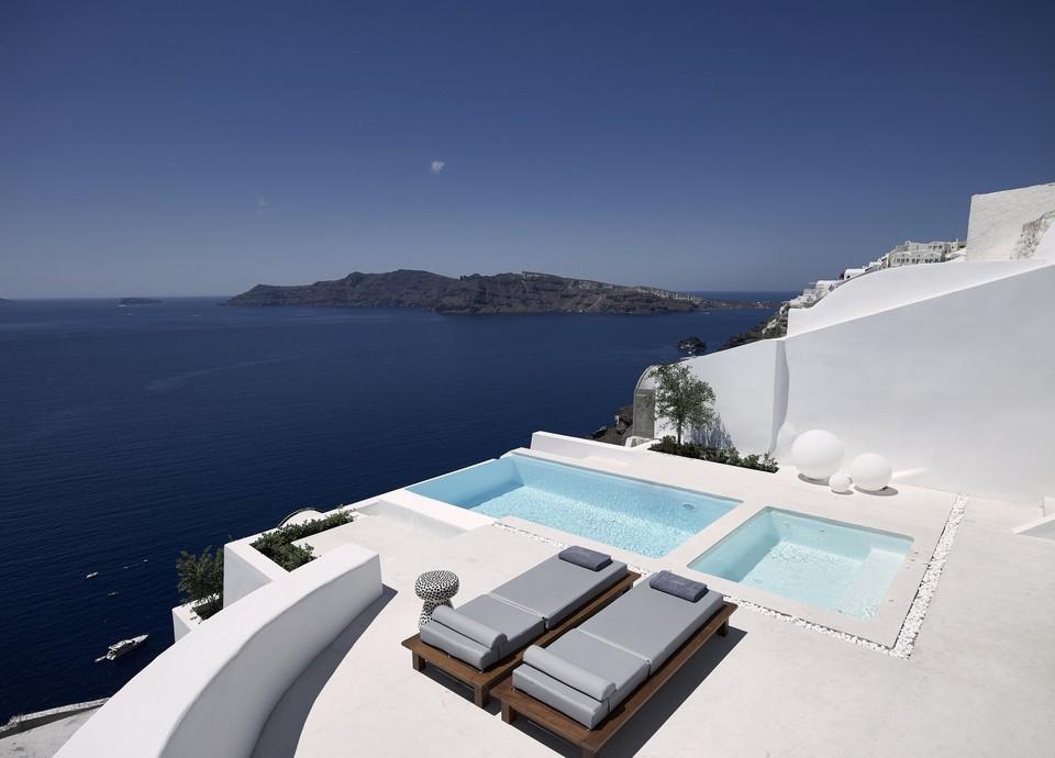 Luxusná vila na Santorini