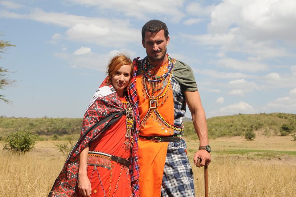 Nakrúcanie v Afrike 1