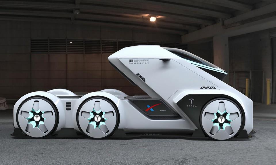 Tesla SpaceTruck Concept