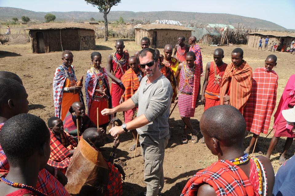 Nakrúcanie v Afrike 3