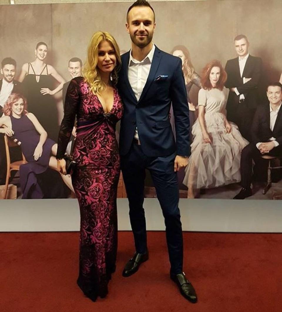 Katarína Jesenská so synom Jakubom na OTO-vi