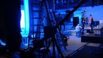 Búranie starého štúdia Novín TV JOJ 9