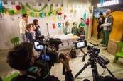 Semafor - Nakrúcanie Ditinej narodeninovej oslavy