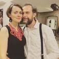 Juraj Kemka s manželkou