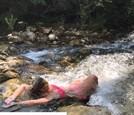 Erika Barkolová si užíva leto v Chorvátsku