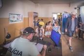 Prázdniny - Nakrúcanie na policajnej stanici