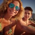Katarína Jesenská so synom Samkom