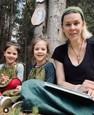 Kristína Tormová s dvojičkami