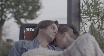 Alica a Andrej zaspali na terase