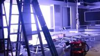 Búranie starého štúdia Novín TV JOJ 11