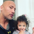 "Dwayne ""The Rock"" Johnson a dcérka Jasmine"