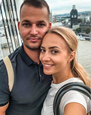 Barbora Krajčírová s manželom