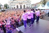 Ondrej Kandráč a kapela Sokoly na JOJke v meste