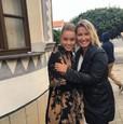 Erika Barkolová s dcérou Alexandrou