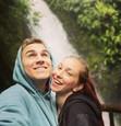 David Gránský s manželkou Nikolou na svadobnej ceste