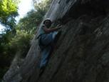 Súdna sieň - Palevičová a jej lezenie po skalách 2
