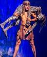 David Gránský v predstavení Tarzan