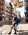 Soňa Skoncová v New Yorku