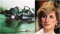 Diana a auto, v ktorom zahynula