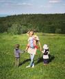 Zuzana Kanócz s deťmi