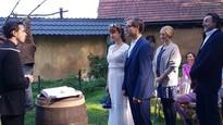 Som mama - Nakrúcanie svadby Tiny a Roba
