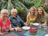 Karel Gott so staršími dcérami