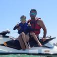 Aneta Parišková na dovolenke na Cypre