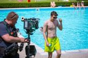 Gregor Miler si užíva letné horúčavy